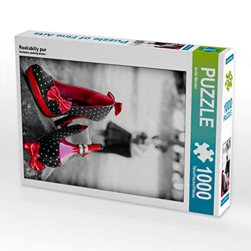 CALVENDO Puzzle Rockabilly pur 1000 Teile Lege-Größe 48 x 64 cm Foto-Puzzle Bild von Janita Webeler