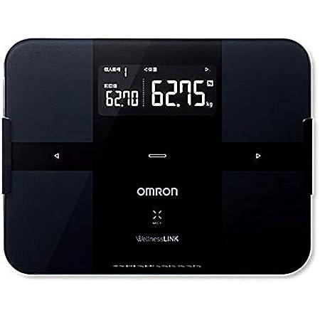 オムロン 体重体組成計(ブラック)OMRON カラダスキャン HBF-254C-BK