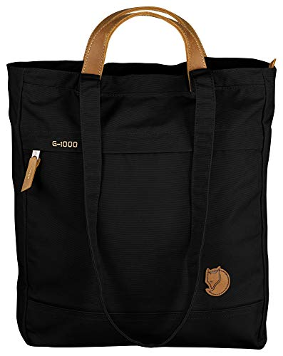 Fjallraven Totepack No. 1 Backpack, Unisex Adulto, Black, OneSize