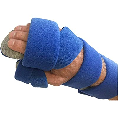 Stroke Hand Brace by Restorative Medical | Functional Resting Hand & Wrist Night Splint - Corrective, Supportive Brace for Correction, Comfort & Pain Relief