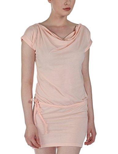 Bench Damen Kleid Jerseykleid Twosided rosa (Pale Dogwood) Medium
