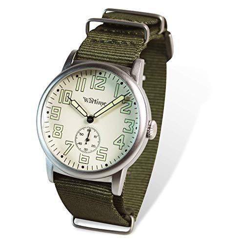 Reloj Vintage Segunda Guerra Mundial - Americano USAF Bombarderos - Réplica histórica Reloj de los Pilotos US Air Force II Guerra Mundial