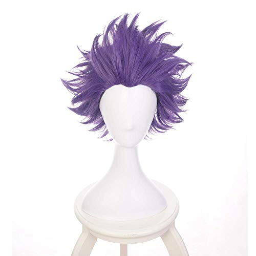 Death Devil Anime Cosplay Wig for My Hero Academia Cosplay Wigs with Free Wig Cap Shinsou Hitoshi