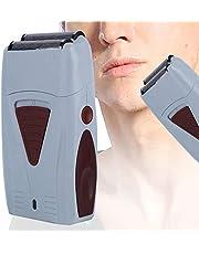 Dwugłowicowa maszynka do golenia dla mężczyzn z akumulatorem Męski zestaw do pielęgnacji z trymerem do brody, głowy, ciała i twarzy, elektryczna maszynka do strzyżenia włosów-trymer do golenia z folii dla mężczyzn