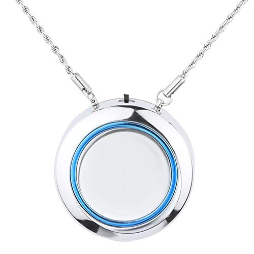 Sale!! Besay Wearable Necklace Air Purifier Portable Mini Low Noise Remove Smell Purifier