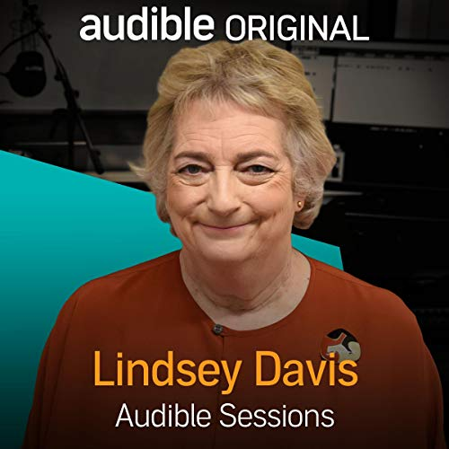 Lindsey Davis audiobook cover art