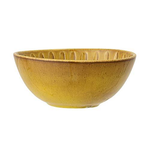 Bloomingville Tazón Cala, amarillo, cermico