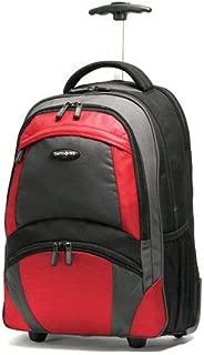 Samsonite Wheeled Backpack (19 x 10 x 13), Black/orange