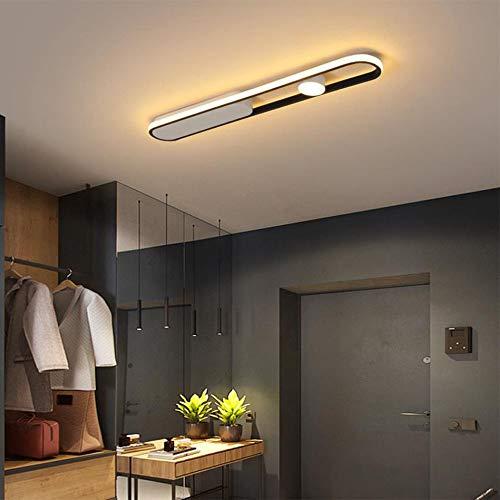LED 19W Entrada Sala Lámpara Destacar Lámpara de Techo Pasillo Moderno Luz de Techo Luz Concentrada, Creatividad Diseño Decoración Luz de Plafón, Pantalla de Acrílico, 1140LM, 3000K