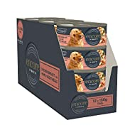 Encore 100% Natural Wet Dog Food, Chicken Breast with Ham and Vegetable in Broth, 156g (Pack of 12)