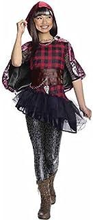 Ever After High Cerise Hood Costume Dress Cape (Medium (8-10))