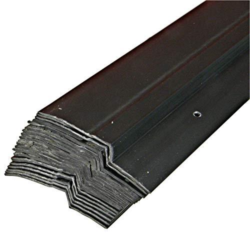 20 x 1,0m Noppenbahn Halteleiste PVC Abdeckprofil Noppenfolie Schutzleiste (20lfm)