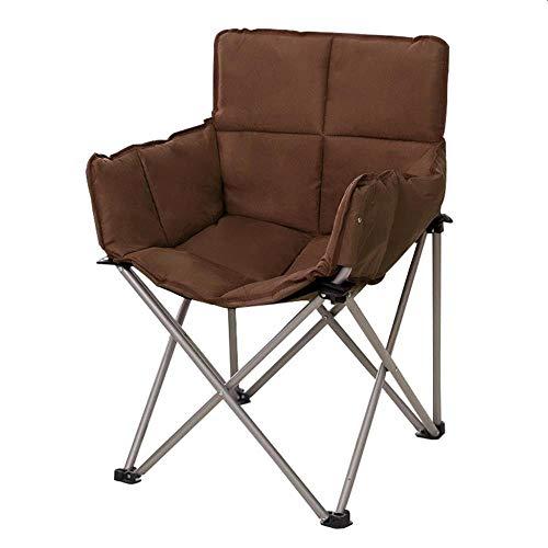 XITER Outdoor draagbare bruin klapstoel ligstoel indoor lunchpauze stoel QQ stoel nationaal strand vrije tijd camping vissen stoel maan stoel