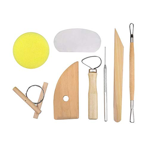 Clay Tools and Pottery Sculpting Tool Set
