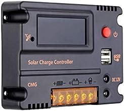 وحدة تحكم بالشحن 20 امبير تعمل بالطاقة الشمسية منظم بطارية بلوح يعمل بالطاقة الشمسية وحدة تحكم في التشغيل التلقائي تعمل بالطاقة الشمسية معادلة التغير في درجة الحرارة 12 فولت - 24 فولت