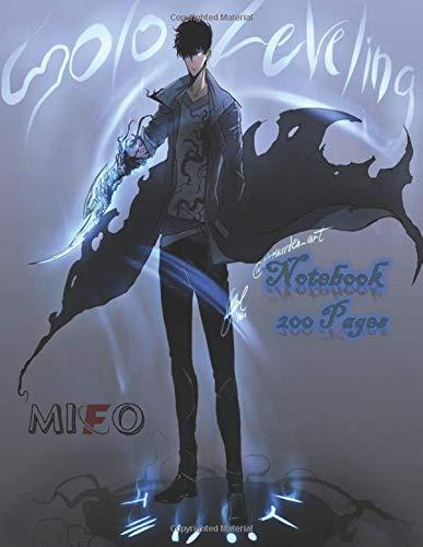 Notebook Manhwa: Notebook : solo leveling manga manhwa ,200