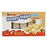 Kinder - Happy Hippo - Barritas de Chocolate - 5 unidades x 20.7 g