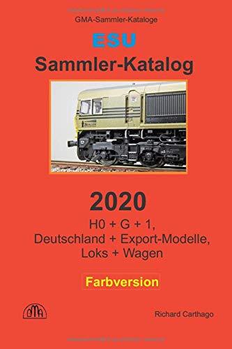 ESU Sammler-Katalog 2020 Farbversion: H0 + G + 1,