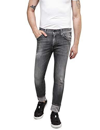 Replay Herren JONDRILL Skinny Jeans, Grau (Dark Grey 97), W31/L30 (Herstellergröße: 31)