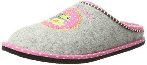 Supersoft Damen 522 173 Pantoffeln, Grau (Grey), 36 EU