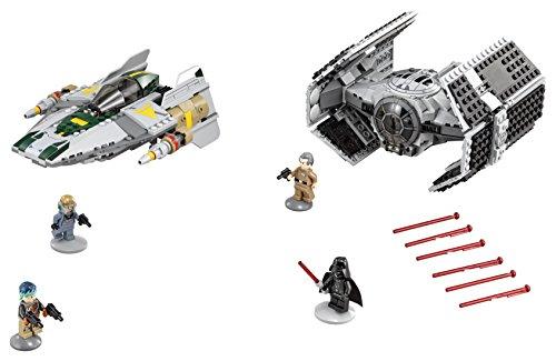 75150 Vader/'s Tie vs A-Wing Lego Star Wars Original New Sticker Sheet Only
