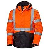 Helly-Hansen Workwear Men's Alta Winter Jacket, Orange/Charcoal - X-Small