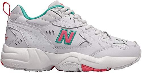 New Balance WX608WT1, Trail Running Shoe Womens, Blanco Rosa