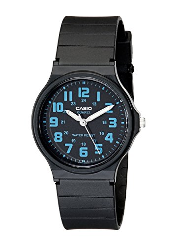 Casio Unisex MQ-71-2BCF Classic Luminous Hands Watch With Black Resin Band