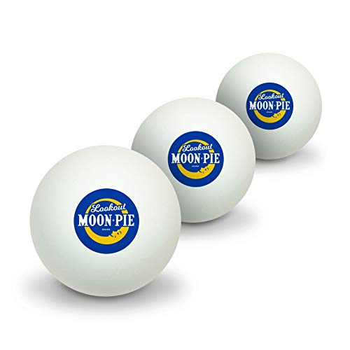 Why Should You Buy GRAPHICS & MORE Lookout MoonPie Logo Novelty Table Tennis Ping Pong Ball 3 Pack