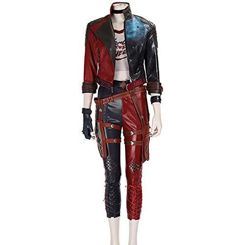 Xin Hai Yuan Suicida escuadrón Mata a la Liga de Justicia Cosplay Harley Traje de Quinn Halloween Adultos Mujeres,M