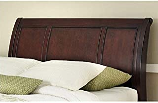 Lafayette Cherry Queen/Full Sleigh Headboard by Home Styles