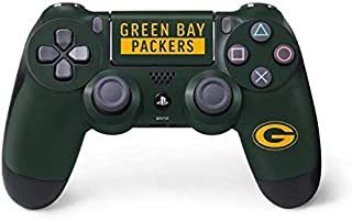 Skinit Decal Gaming Skin for PS4 Controller - Officially Licensed NFL Green Bay Packers Green Performance Series Design