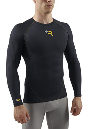 Sub Sports Mens Long Sleeve Top Muscle Recovery Compression Post Work Out -S