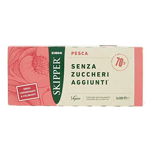 ZUEGG - SKIPPER PESCA SENZA ZUCCHERO 200X3 - 600 ML