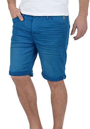 Blend Diego Herren Jeans Shorts Kurze Denim Hose Aus Stretch-Material Slim Fit, Größe:L, Farbe:Nautical Blue (74632)