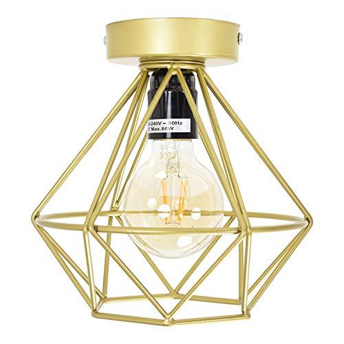 Urban Interiors Wire - Plafondlamp - Goud