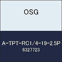 OSG ハイス管用テーパタップ A-TPT-RC1/4-19-2.5P 商品番号 8327723