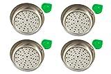 Plato para carbón manzana de cachimba shisha hookah - Muy cómodo y fácil de utilizar (Cuatro)