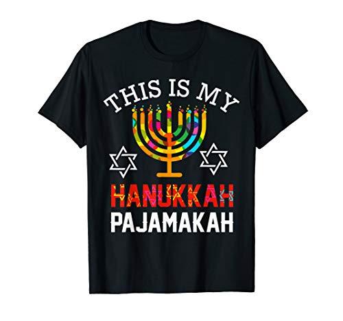 This is My Hanukkah Pajamakah hanukkah funny pajama gift T-Shirt