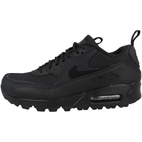 Nike Zapatillas para hombre Low Air Max 90 Surplus, color Negro, talla 38.5 EU