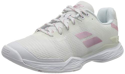 Babolat Damen Jet Mach II All Court Shoe Women White Tennisschuhe, Weiß, 41 EU
