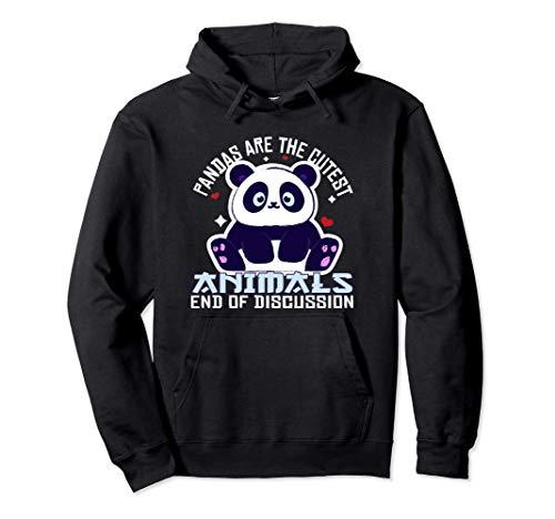 Lindo Panda Kawaii Oso Panda Bebé Panda Disfraz Regalo Sudadera con Capucha