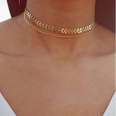 Yolandabecool, collana da donna, alla moda, multistrato, affascinante, ottima idea regalo R