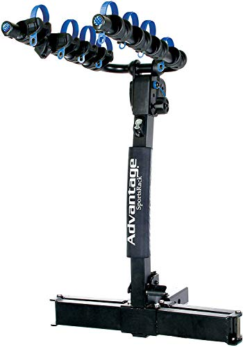 Heininger 2255 AdvantageSports Rack glideAWAY Elite Four Bike Rack