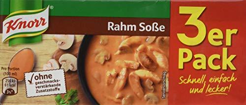 Knorr Rahm Soße, 3 x 250ml