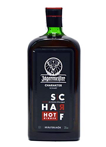 Licor de hierbas - Jagermeister Scharf Hot Ginger 70 cl
