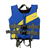 FR&RF Niños Natación Vida Chaqueta Neopreno Seguridad Agua Deportes Kayak Swimwear Buega Boating Drifting Swimsuit,S