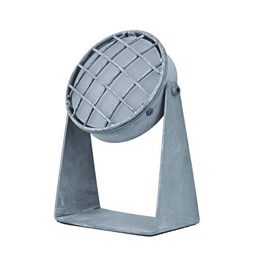 Tischlampe Beton-Look. Schreibtischlampe industriele Tischleuchte. DEKRA-zertifizierte led Tischlampe in robustes Design mit E27 Fassung. Clemento wohnnzimmer lampe perfekt geeignet für led