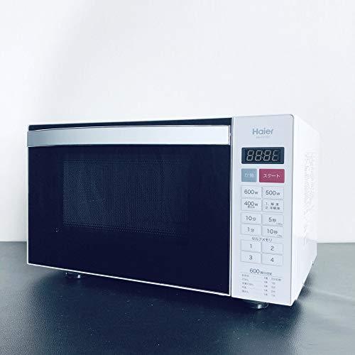 ハイアール 電子レンジ ホワイト 18LHaier フラットタイプ JM-FH18D(W)