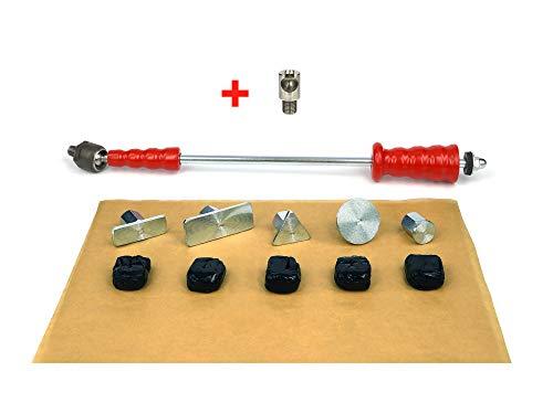 Zughammer Set MIDIAR Gleithammer mit Kaltkleber Cola Fria zum Dellen entfernen, Dellenreparatur, Ausbeulwerkzeug, Dellenwerkzeug